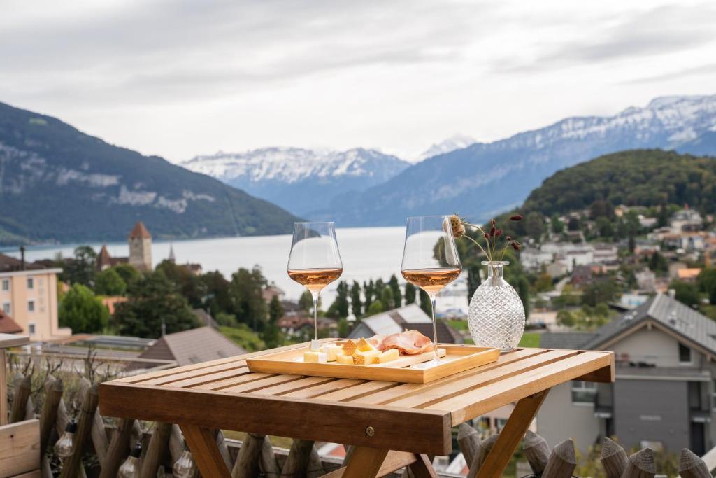 la belle vue Boutique Hotel & Café Spiez, Mai 2020