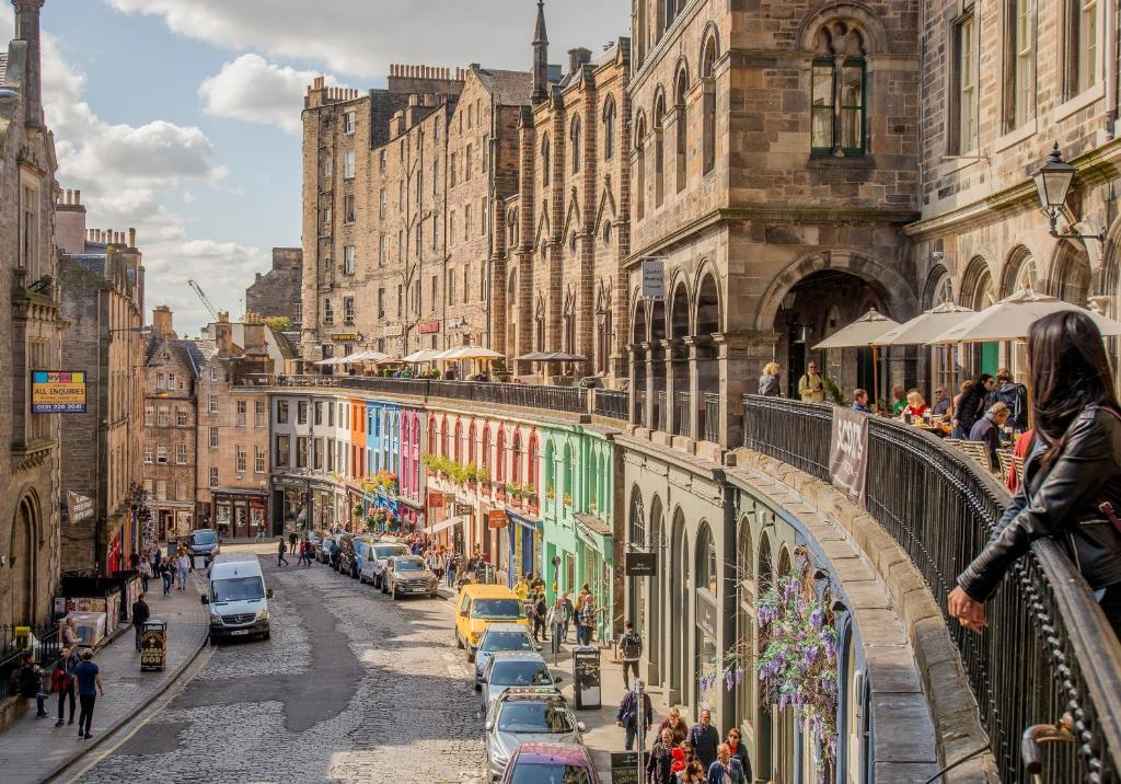 West Bow just off Royal Mile