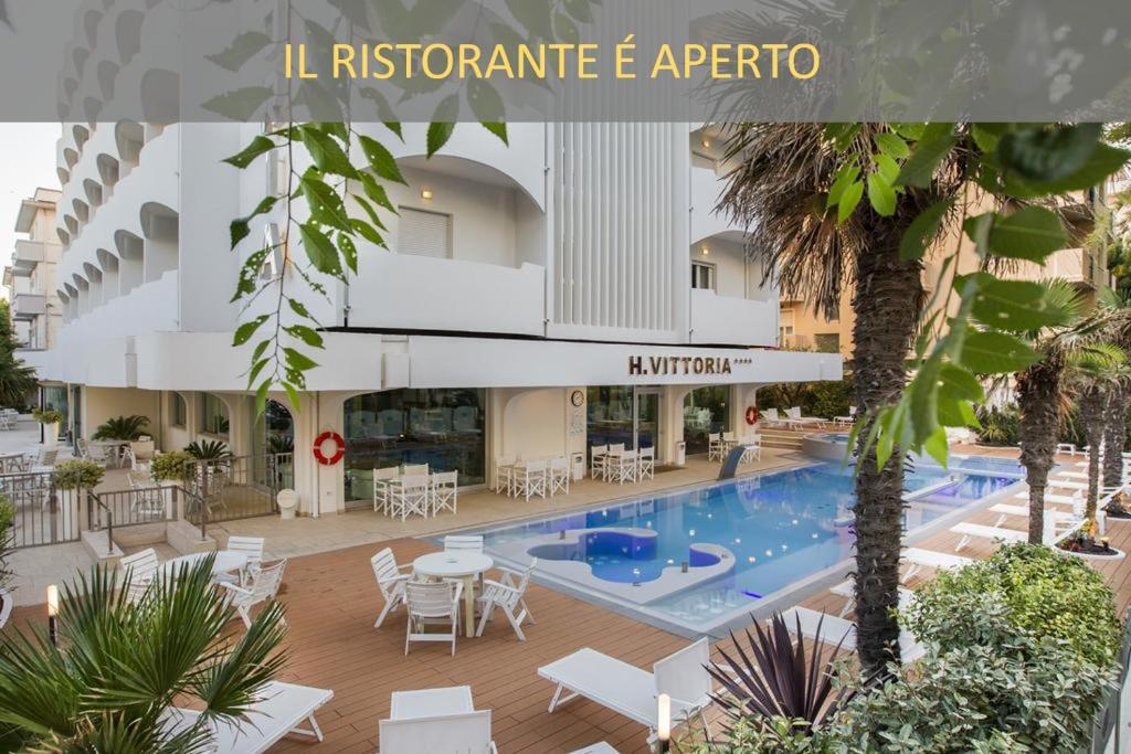 Vittoria Hotel Riccione, Italy