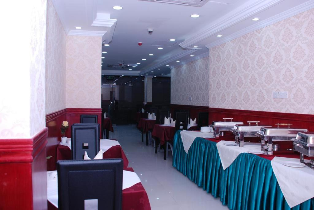 A restaurant or other place to eat at Gulf Star Hotel