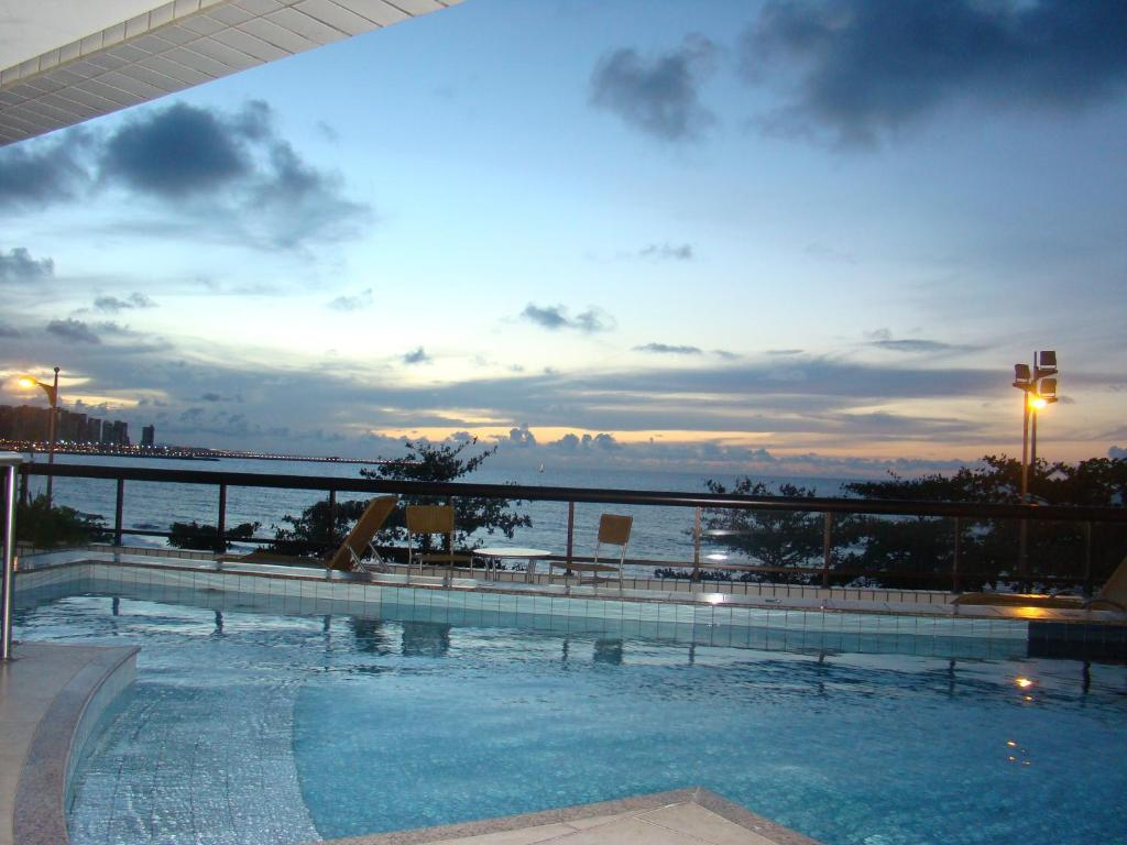 The swimming pool at or near Othon Palace Fortaleza