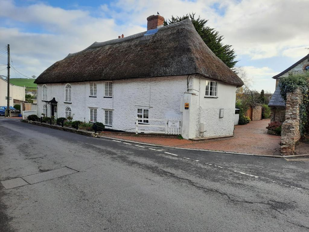 The White Cottage in Colyton, Devon, England