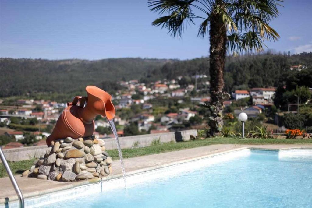 The swimming pool at or near Casa Rural do Salgueirinho