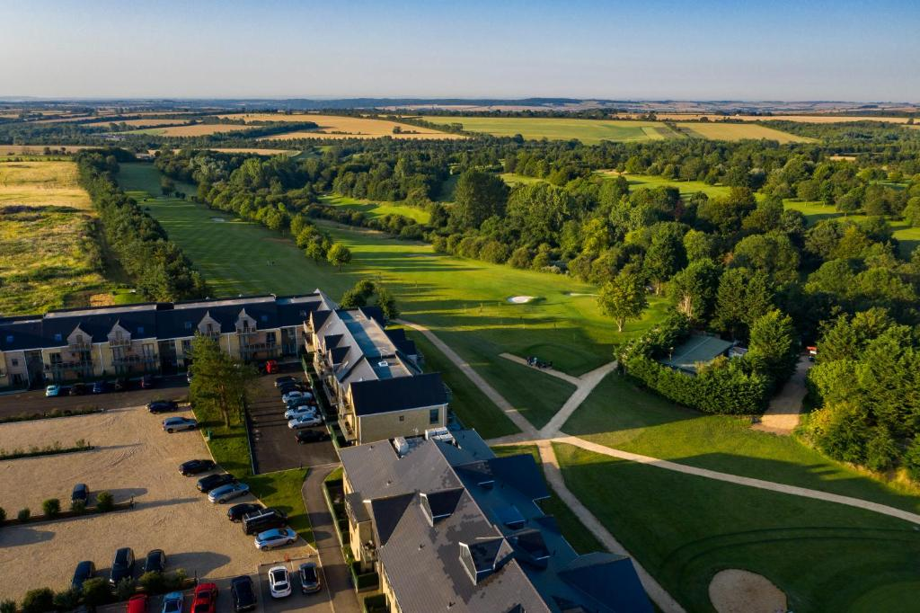 A bird's-eye view of Cotswolds Hotel & Spa