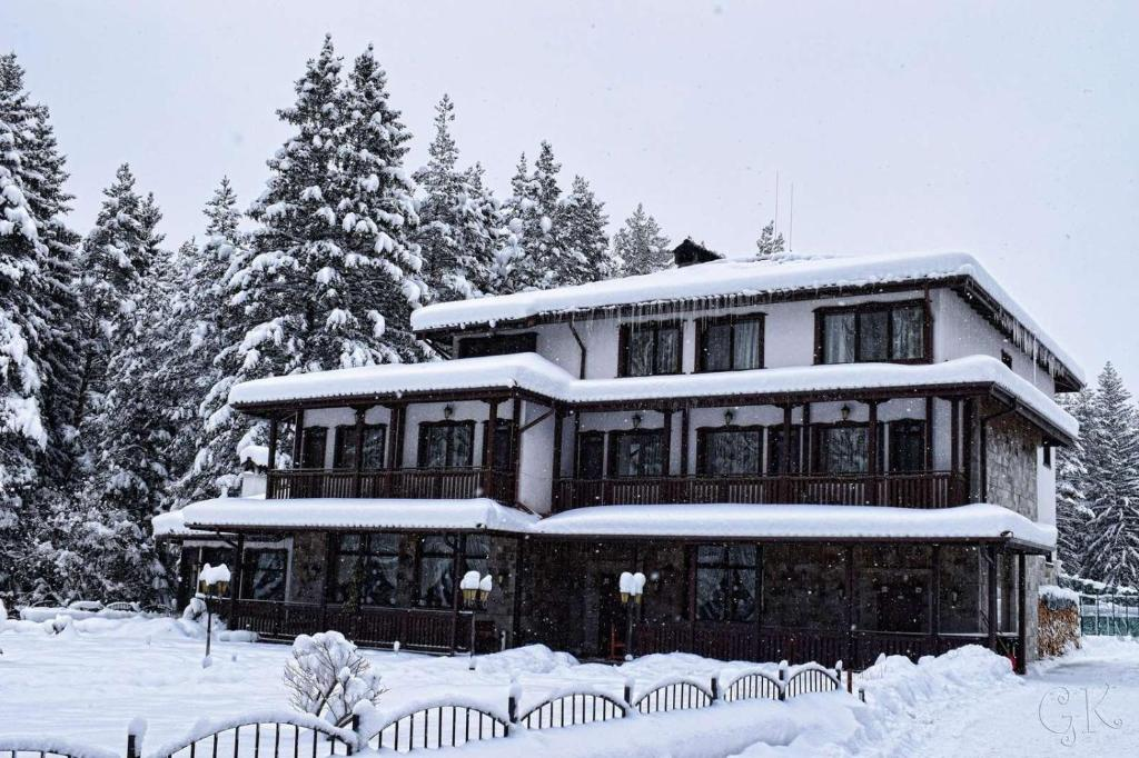 St.George Hotel during the winter