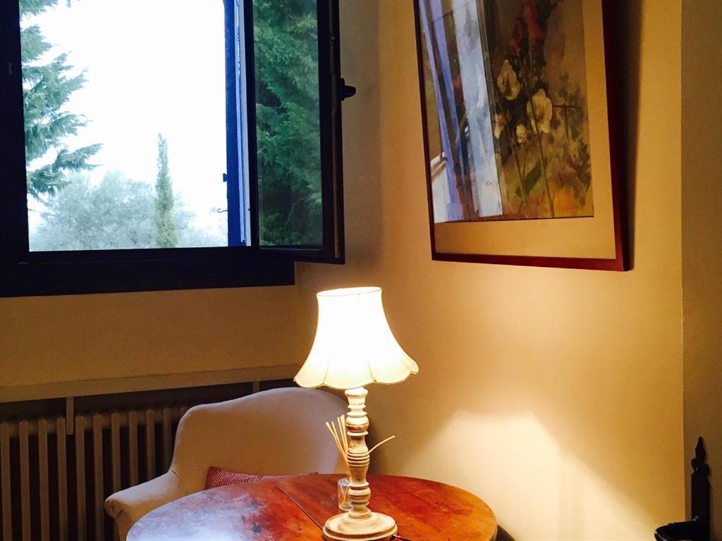 Un ou plusieurs lits dans un hébergement de l'établissement Chambre D'hôte La Beaudine