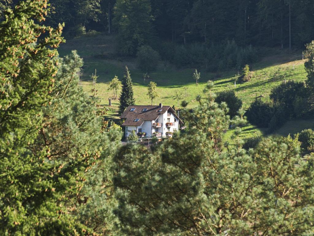 A bird's-eye view of Gästehaus Heller