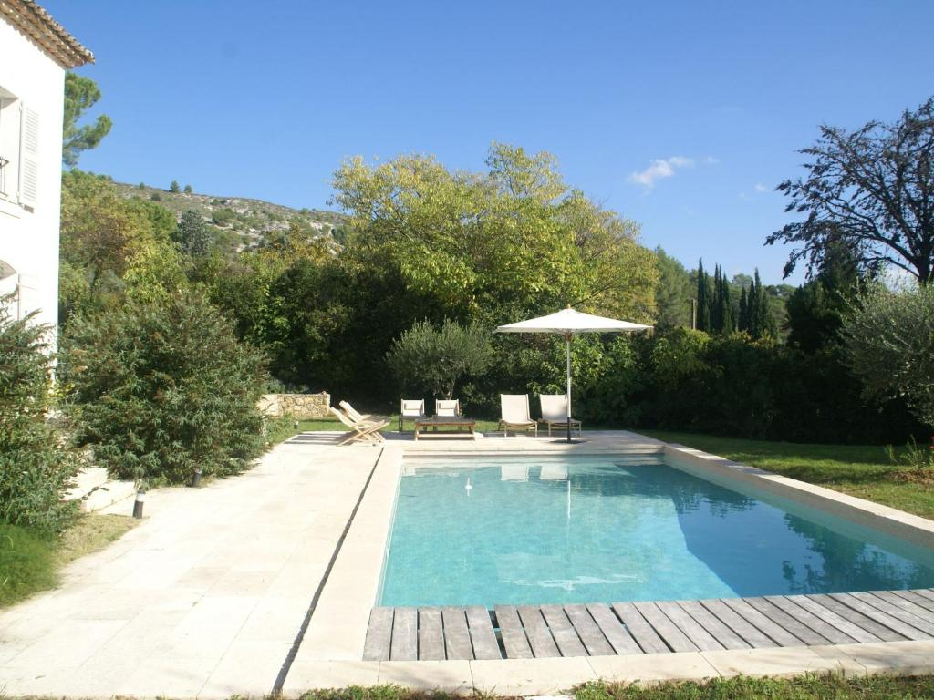 The swimming pool at or near Luxurious Villa in Salernes with a Pool
