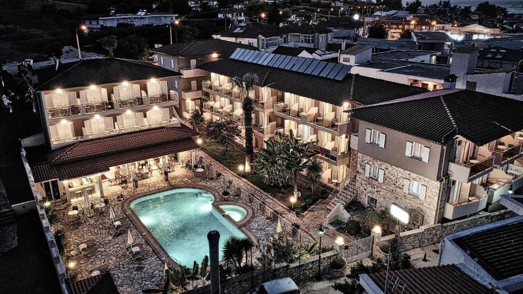 A bird's-eye view of Sarantis Hotel