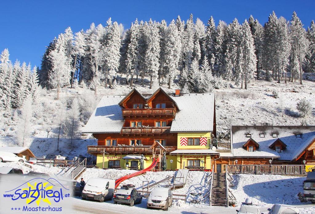 Moasterhaus Trialpark Salzstiegl