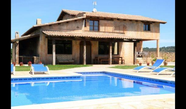 Prat de Comte Villa Sleeps 11 with Pool and Air Con