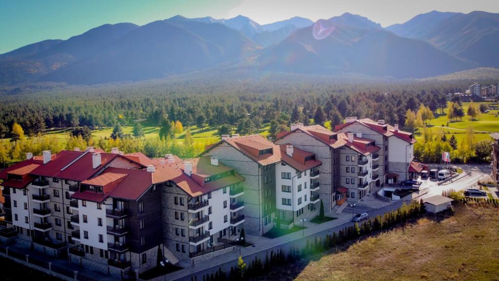 Гледка от птичи поглед на Balkan Jewel Resort & Chalets