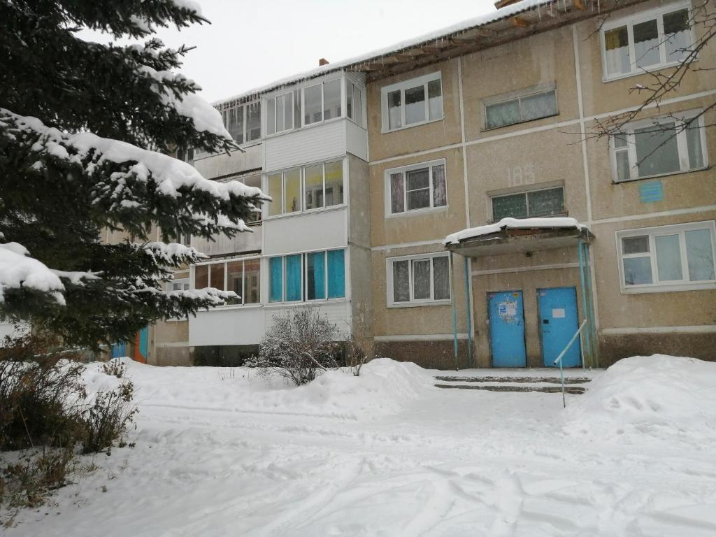 2 Bedrooms apartment on Gagarina during the winter