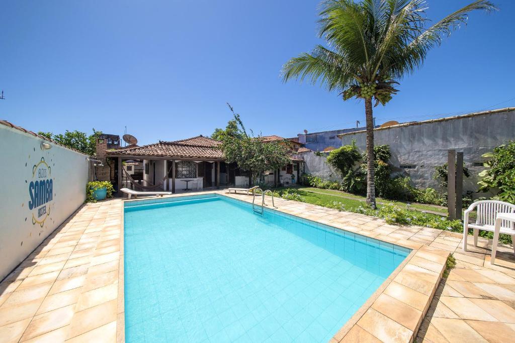 The swimming pool at or near Búzios Samba Hostel