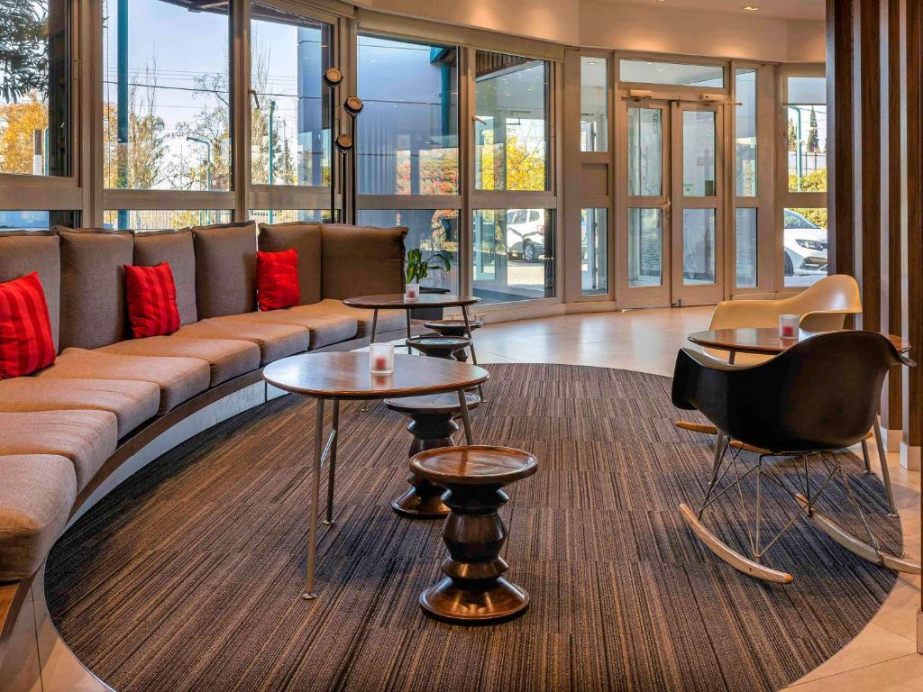 O lounge ou bar de Hotel Ibis Mendoza