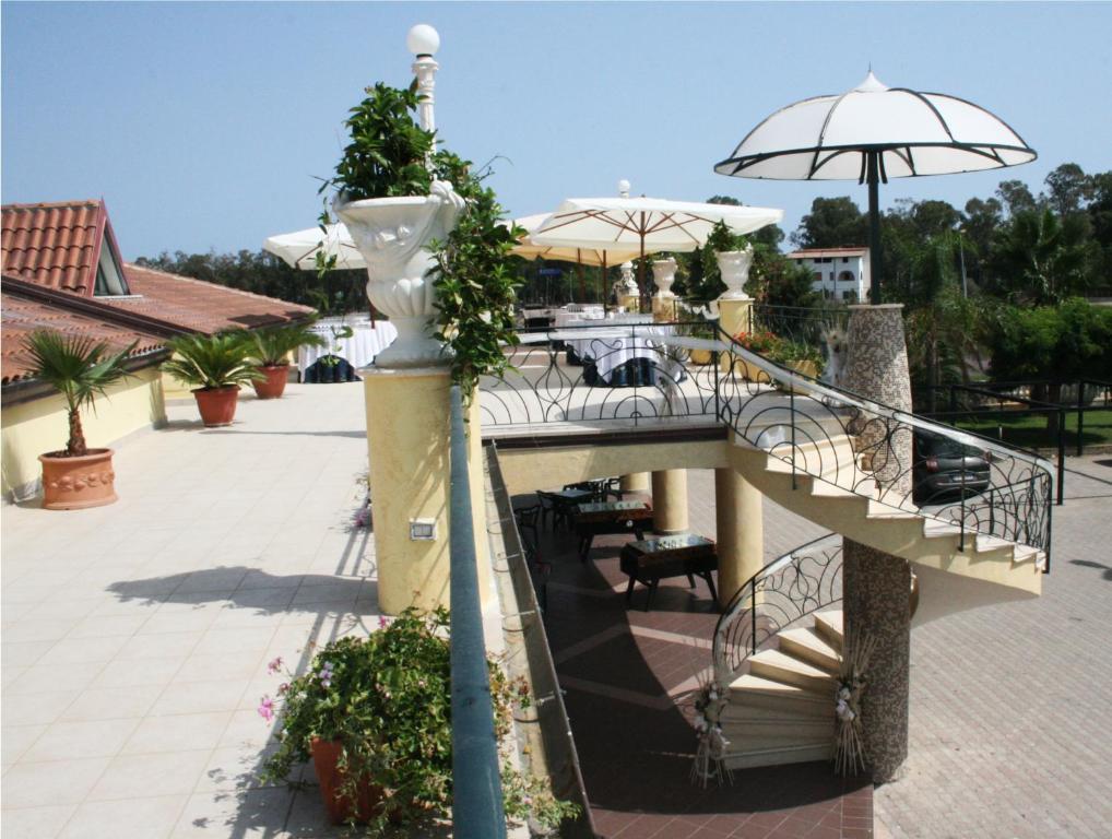 Balcone o terrazza di Hotel Miramare