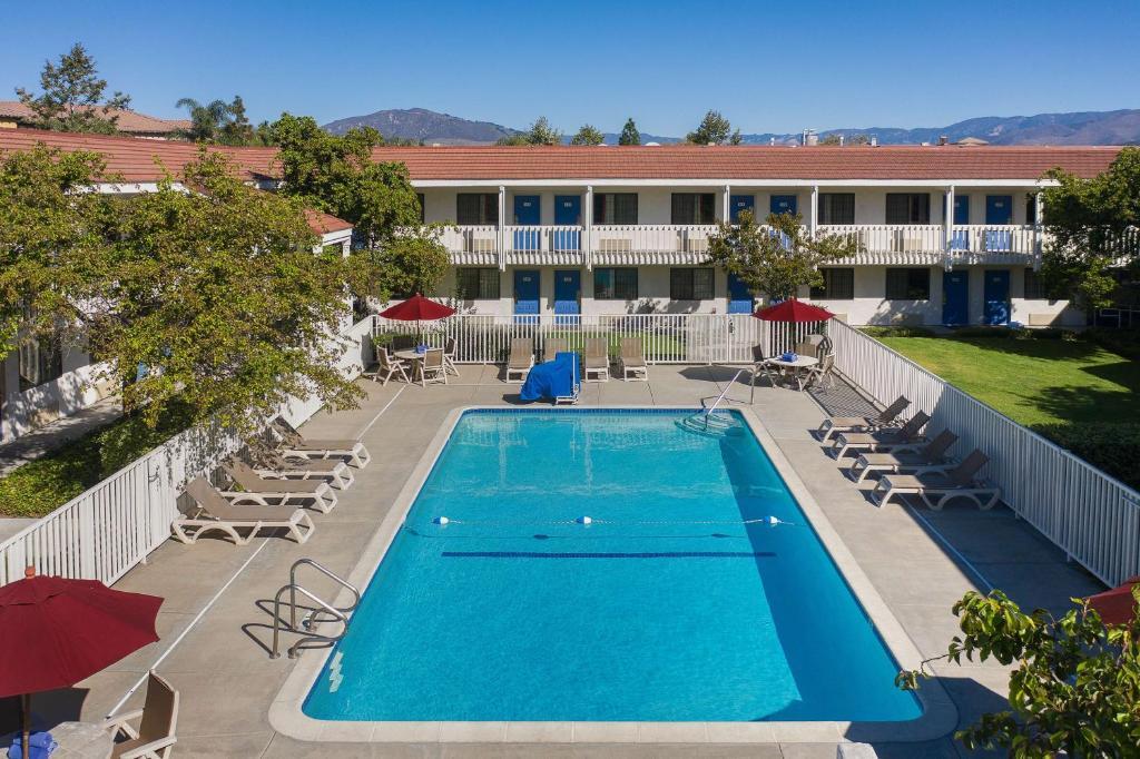 The swimming pool at or near Motel 6-San Luis Obispo, CA - South