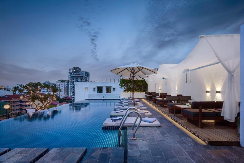 The swimming pool at or near PATIO Hotel & Urban Resort