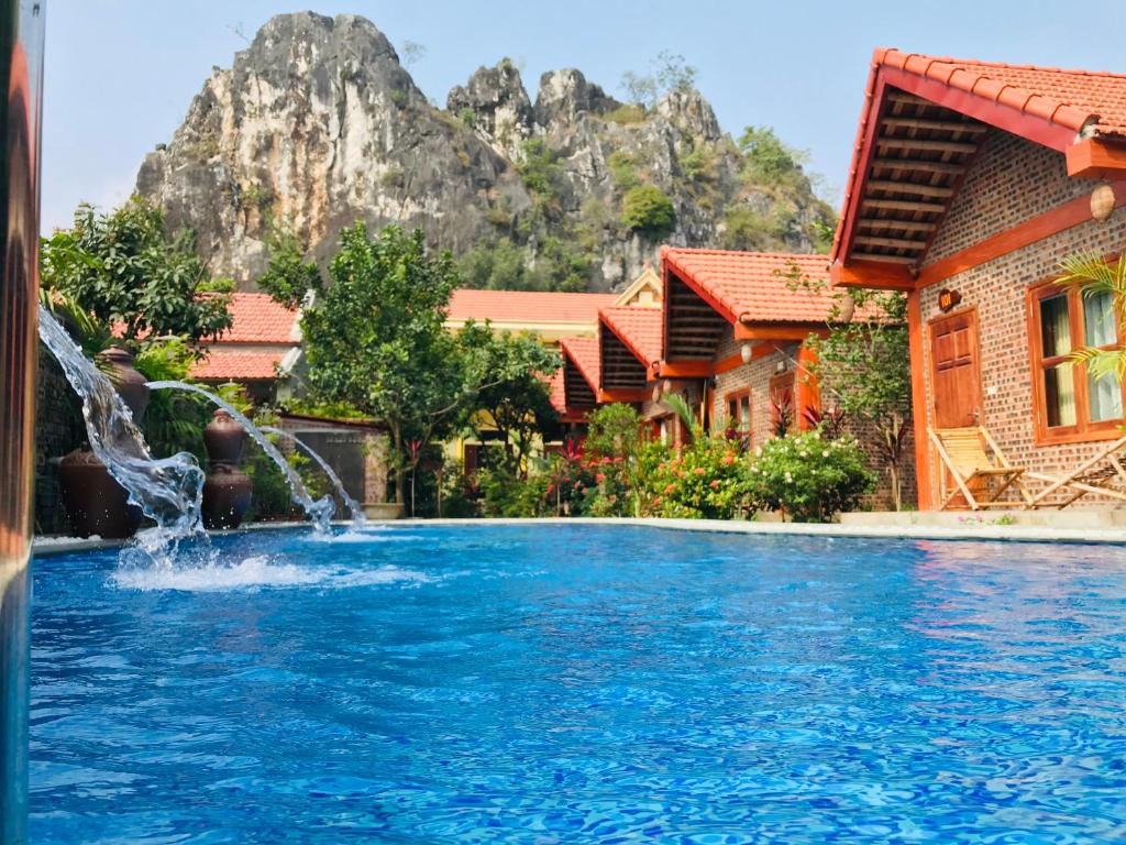 The swimming pool at or near Tam Coc Friendly Homestay