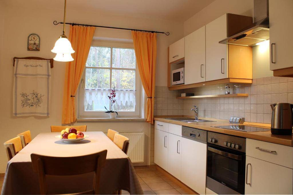 Küche/Küchenzeile in der Unterkunft Ferienwohnungen am Bernsteinweg