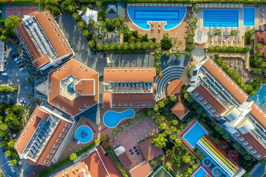 Primasol Hane Family Resort Hotel с высоты птичьего полета