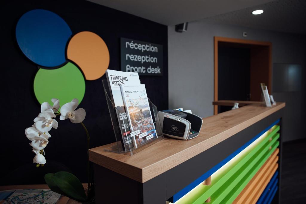 Lobby/Rezeption in der Unterkunft My Hotel