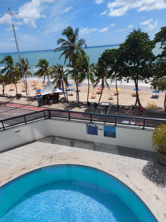 The swimming pool at or close to Euro Suite Recife Boa Viagem