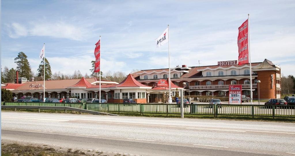 Byggnaden som motellet ligger i