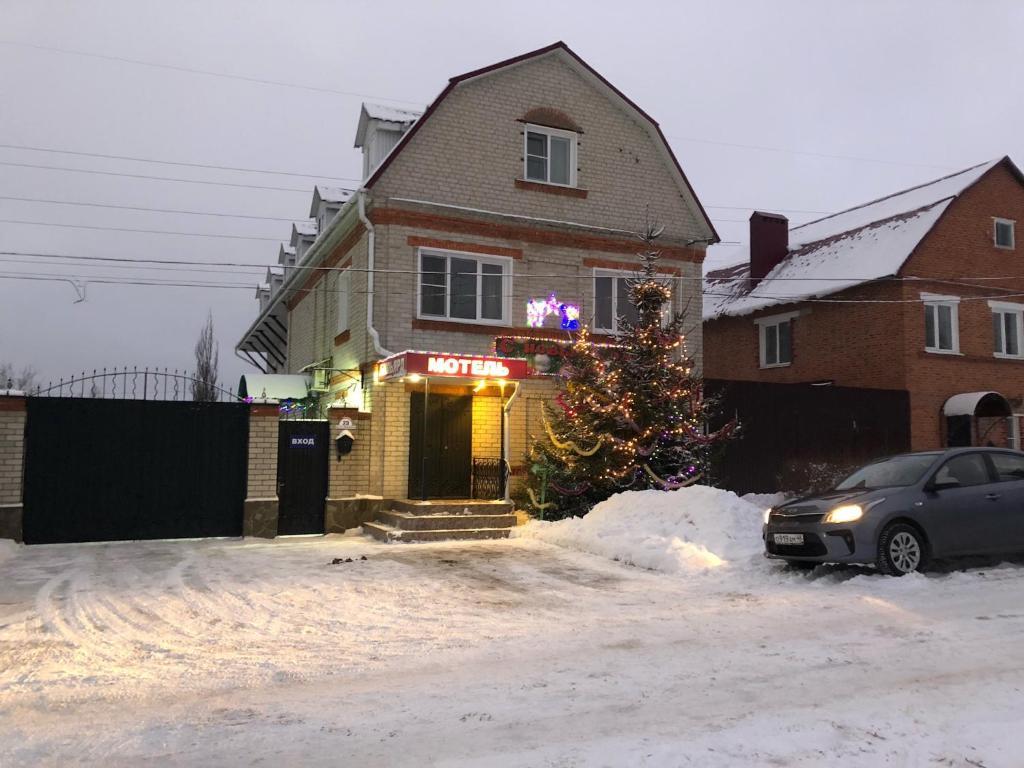 Motel Prival зимой