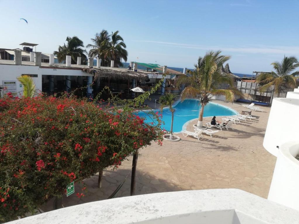 A view of the pool at Loki del Mar or nearby