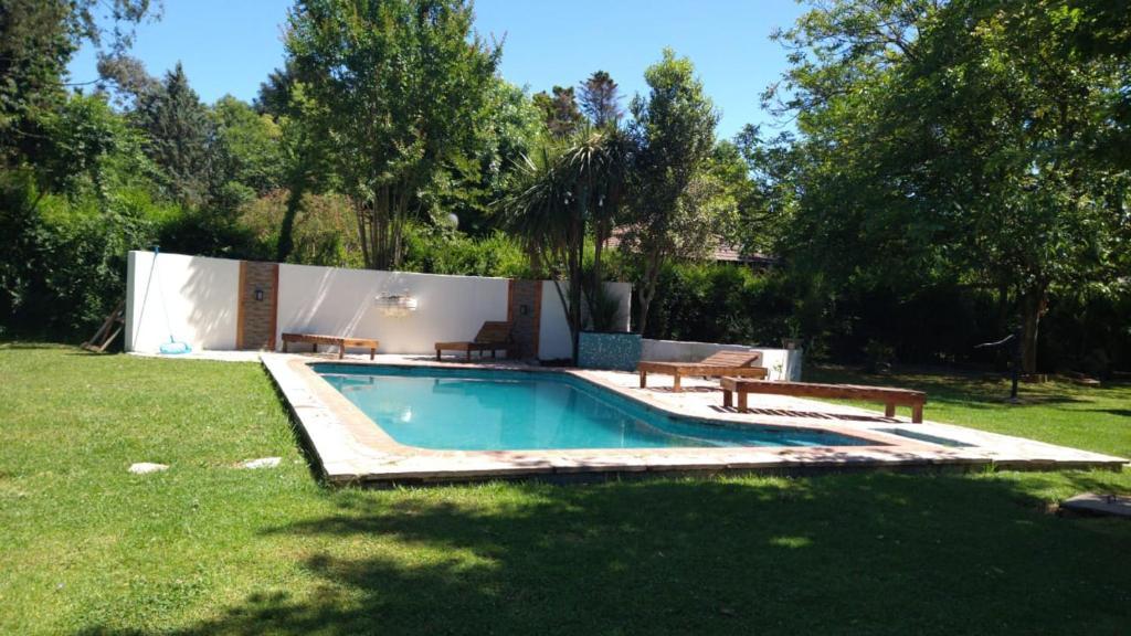 The swimming pool at or near MADAGI
