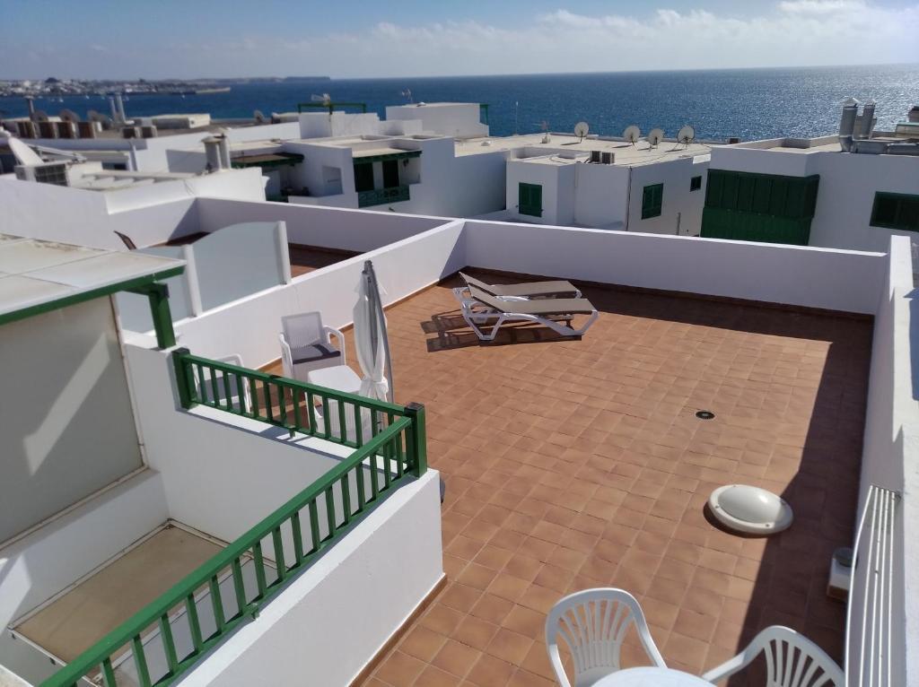 A balcony or terrace at Apartamentos Casa Cipri