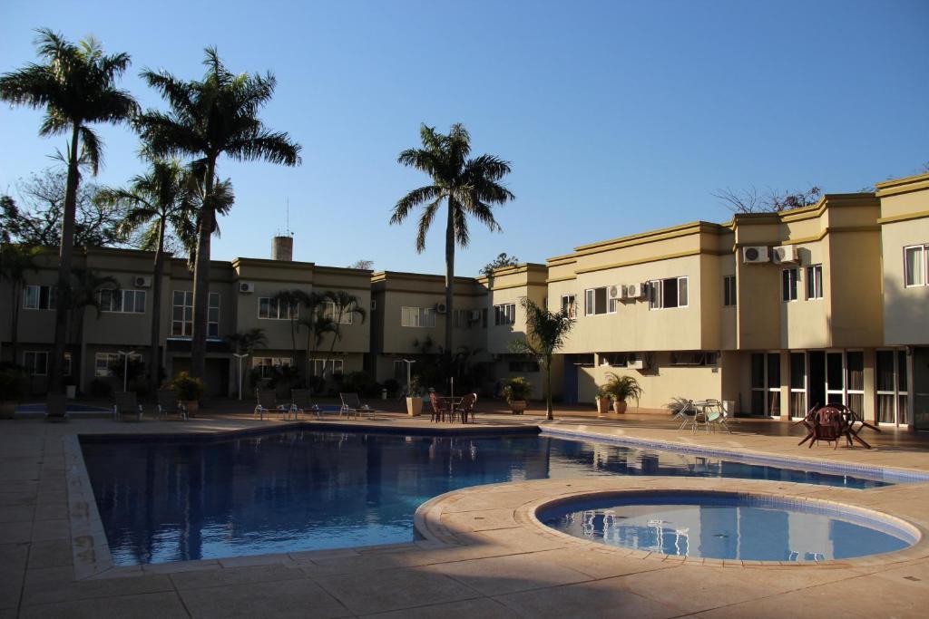 The swimming pool at or near Muffato Plaza Hotel