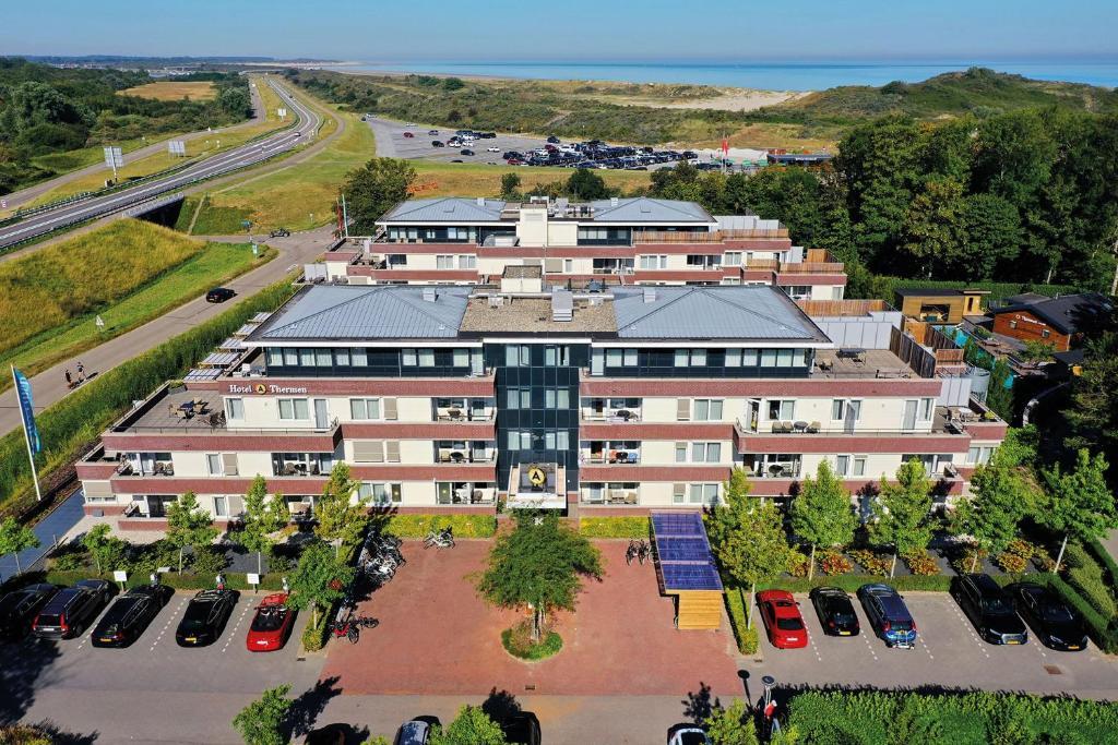 A bird's-eye view of Amadore Hotel Restaurant De Kamperduinen
