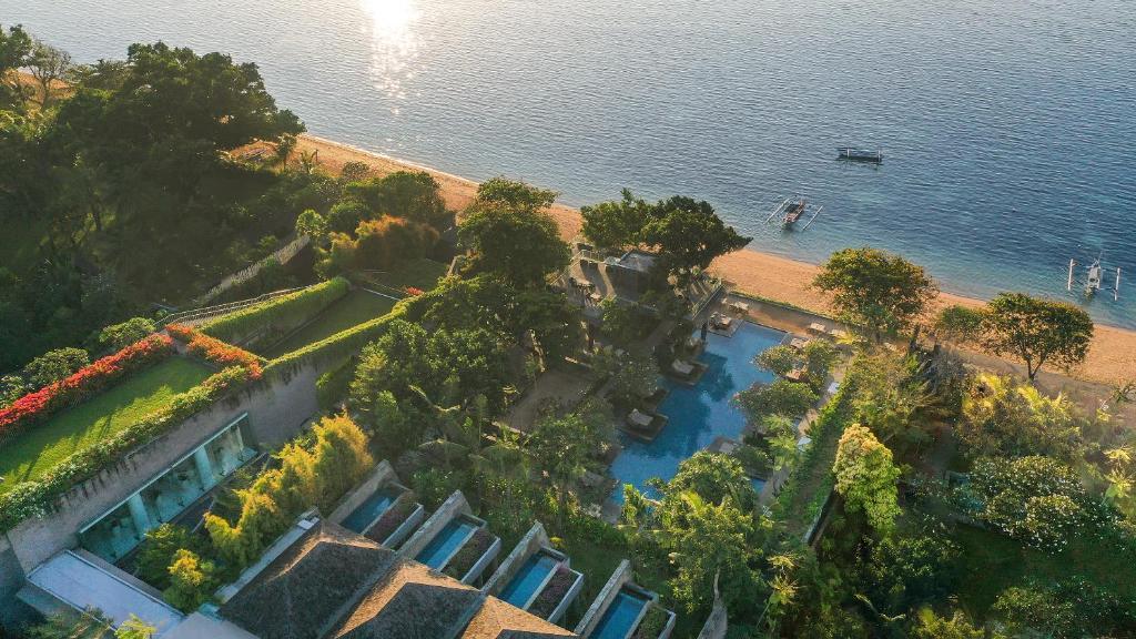 A bird's-eye view of Maya Sanur Resort & Spa