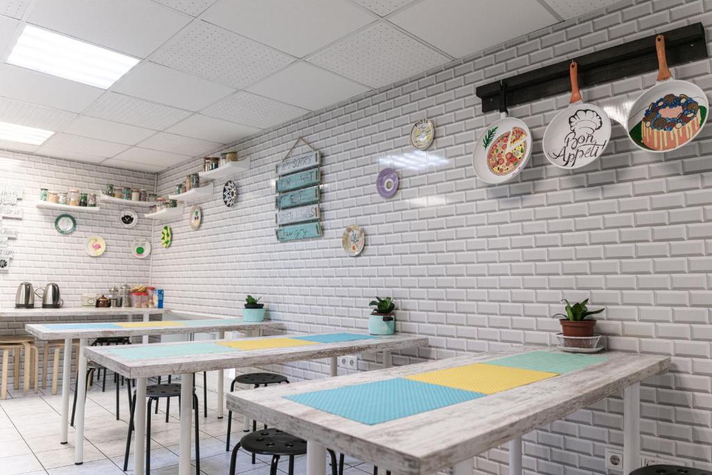 Ресторан / где поесть в Белый Хостел