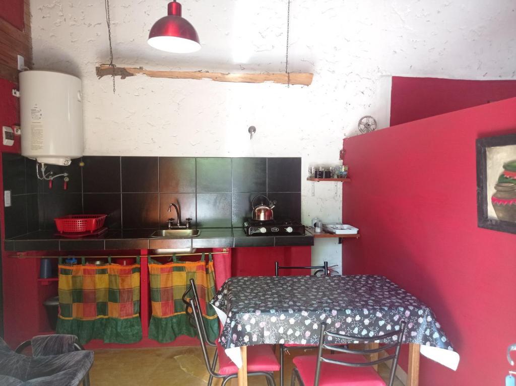 Una cocina o kitchenette en Mi Lugar