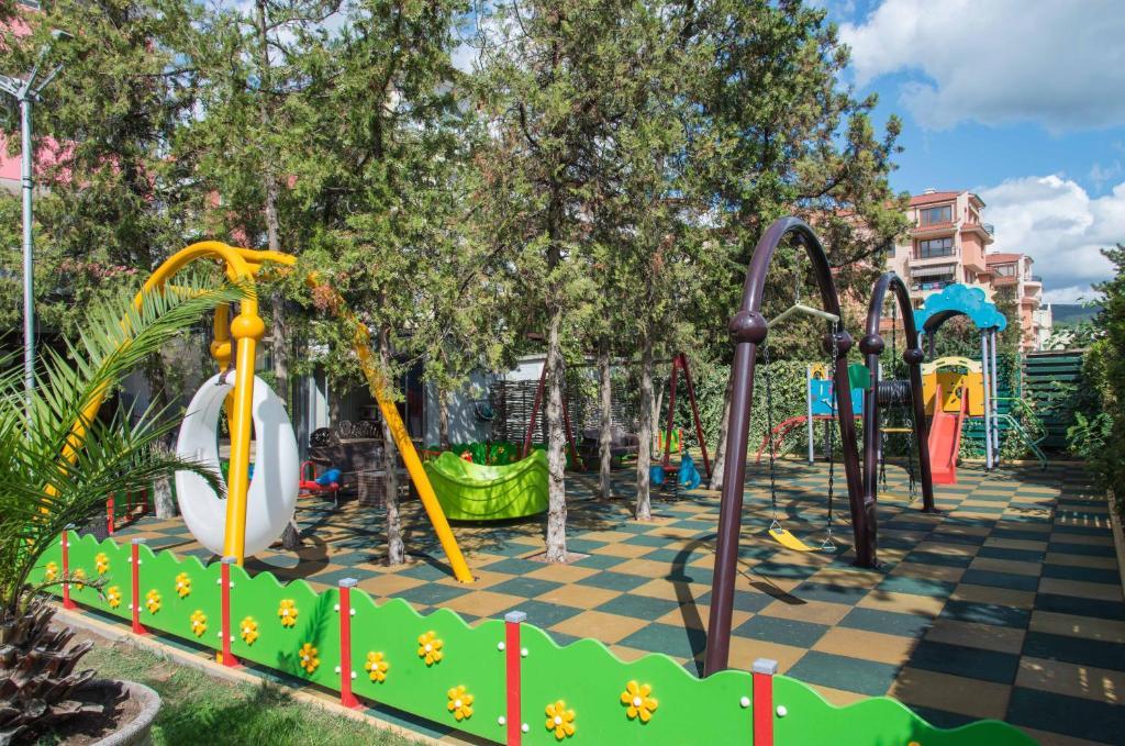 De kinderspeelruimte van Flamingo Hotel - All Inclusive light