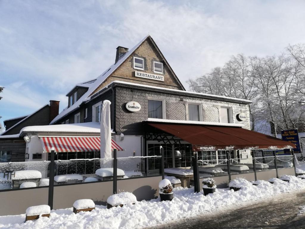 Hotel Herrloh im Winter