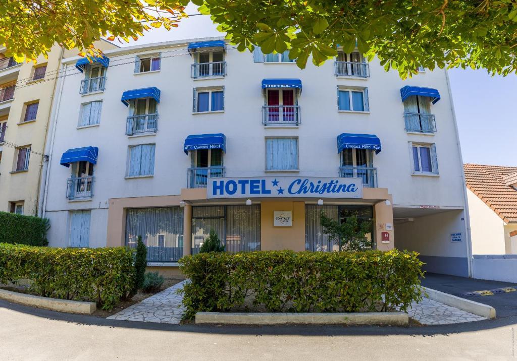 Photo de la façade de l'hotel