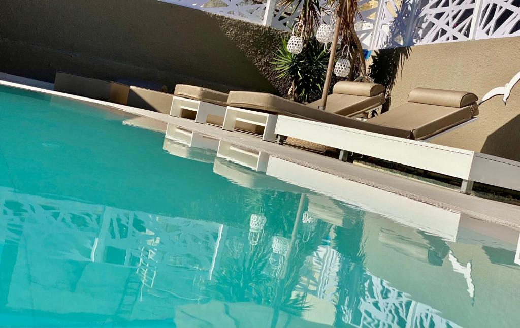 The swimming pool at or near Europa Hotel