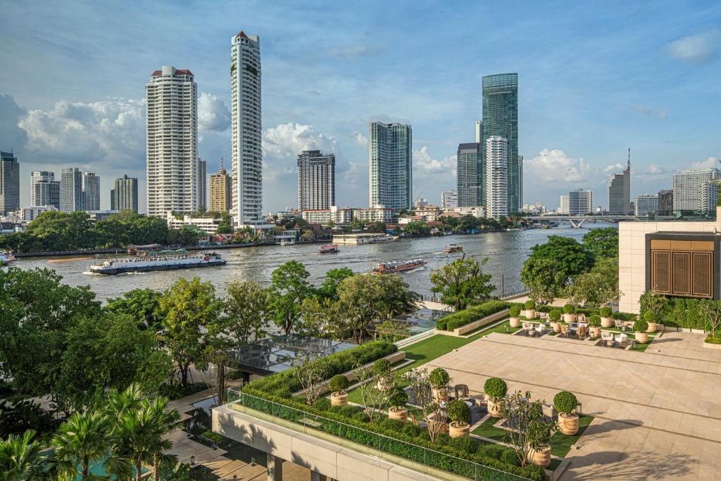 Four Seasons hotel Bangkok at Chao Phraya River, Oktober 2020