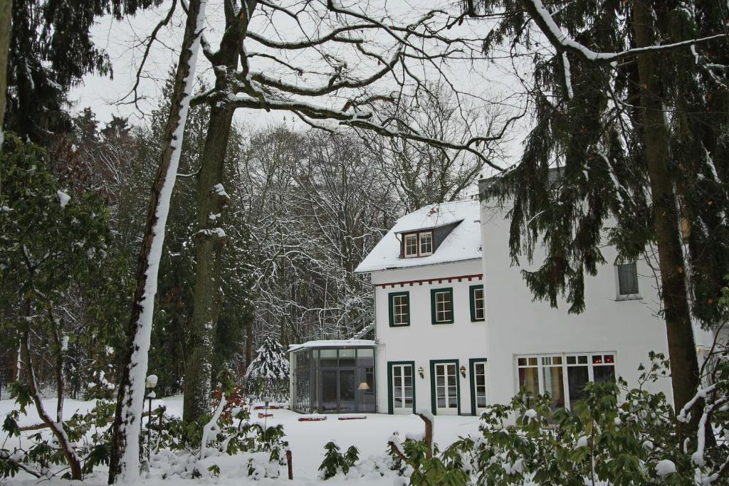 Hardtwald Hotel during the winter