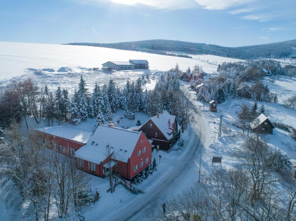 Apartmány IVA - Klínovec during the winter