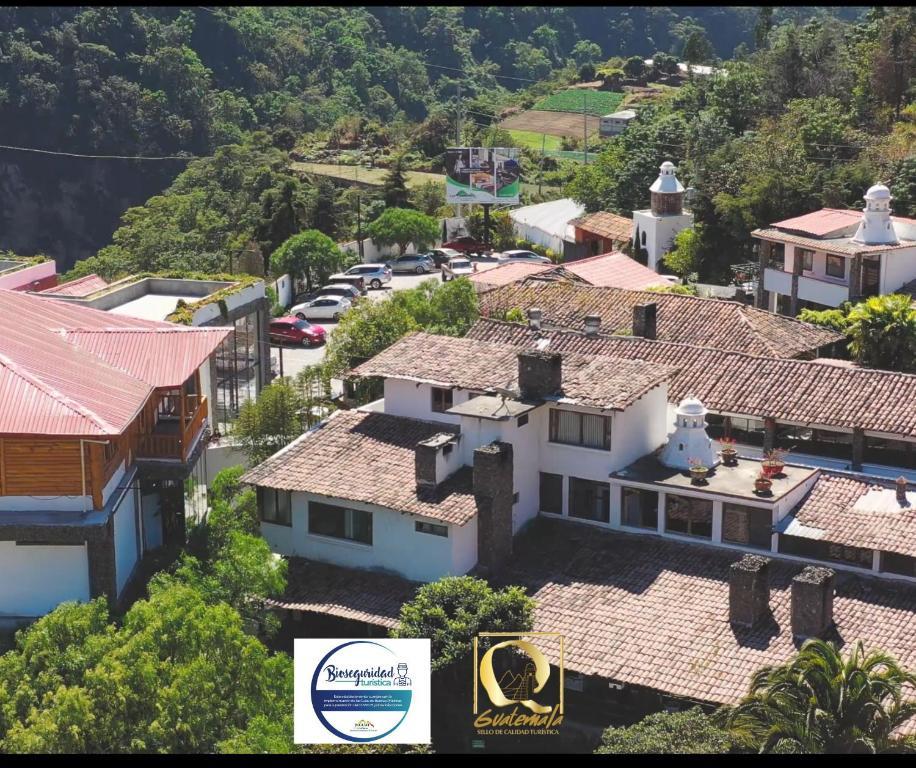 Las Cumbres Eco-Hotel, Termalismo y Spa a vista de pájaro
