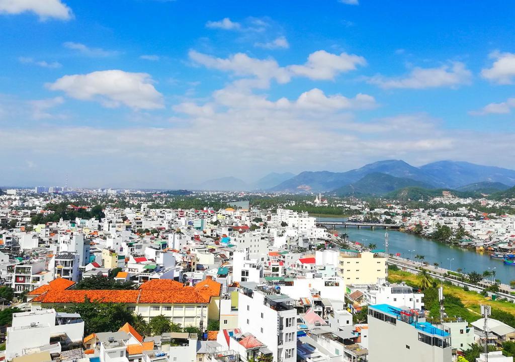 A bird's-eye view of Bavico International Hotel Nha Trang