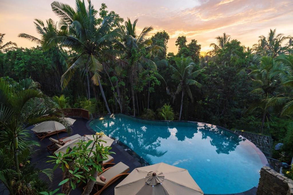 The swimming pool at or near Adiwana Unagi Suites