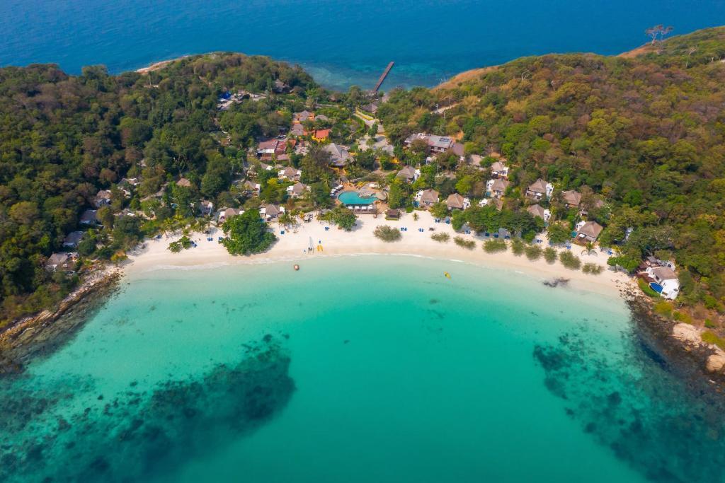 A bird's-eye view of Paradee Resort