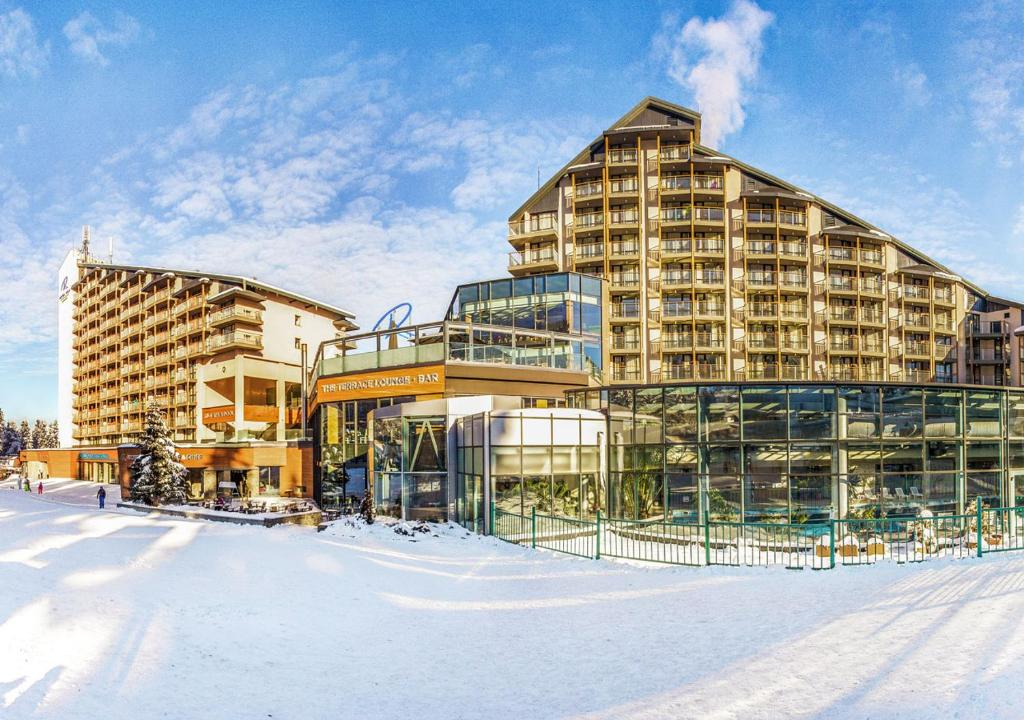 Rila Hotel Borovets during the winter