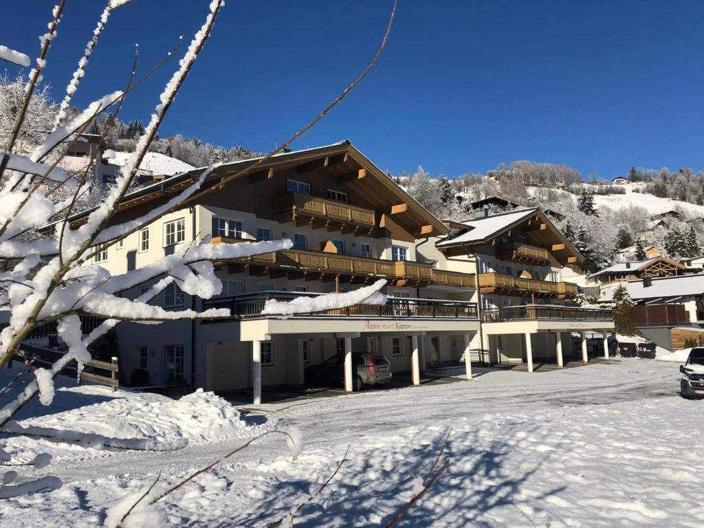 AlpinResort Kaprun in de winter
